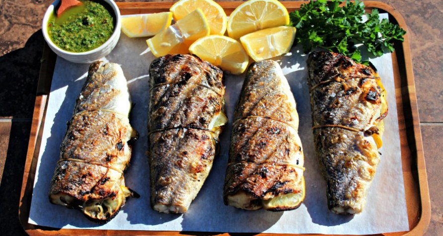 Crispy skin sea bass with salsa verde seafood recipes bull bbq check out the latest recipes from bull forumfinder Image collections