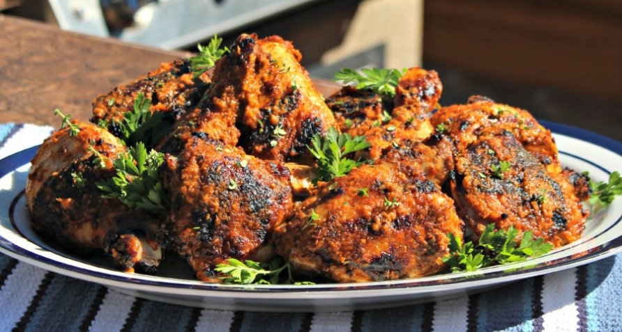 Haitian creole grilled chicken grill for good poultry check out the latest recipes from bull forumfinder Images